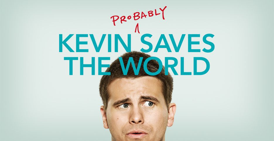 Постер для 1 сезона сериала Кевин Спасает Мир