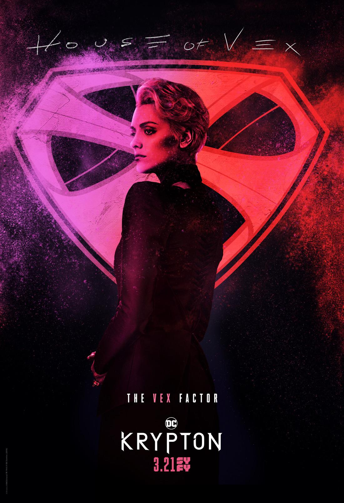 Постер для 1 сезона сериала Криптон