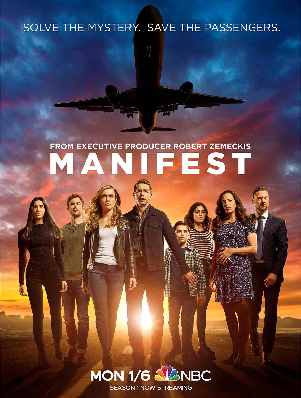 Постер для 2 сезона сериала Манифест