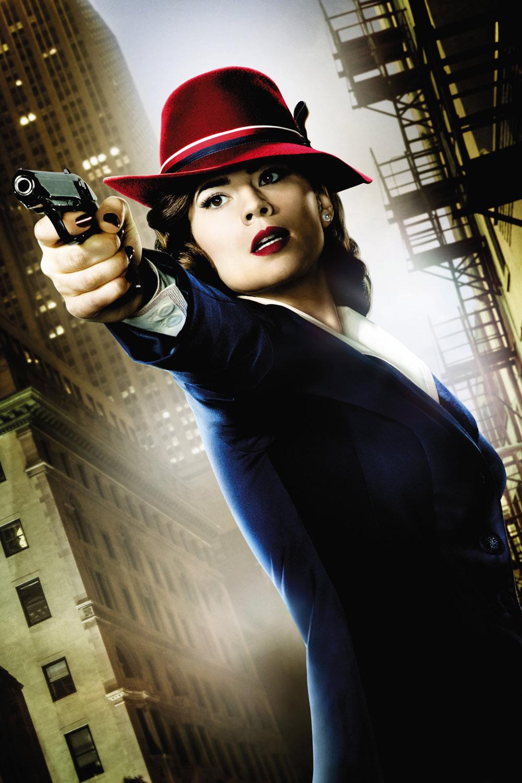Постер для 1 сезона сериала Агент Картер