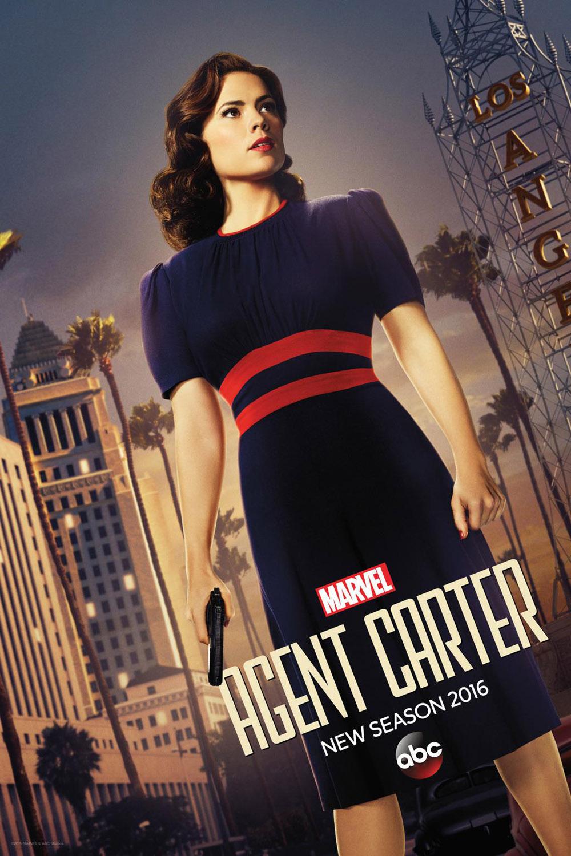 Постер для 2 сезона сериала Агент Картер