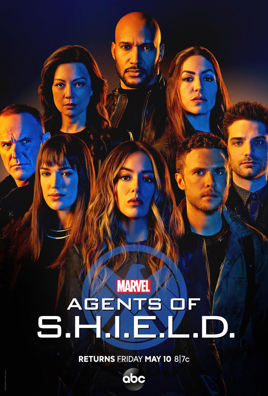 Постер для 6 сезона сериала Агенты Щ.И.Т.