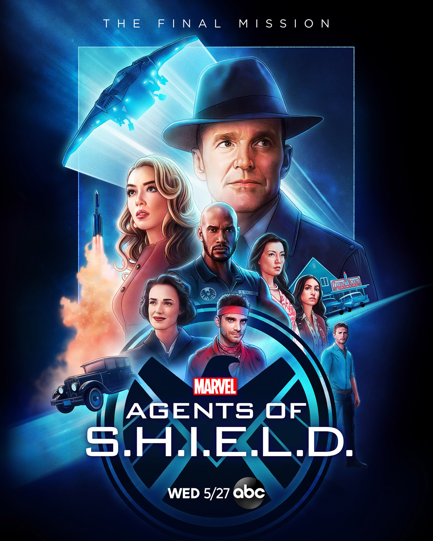 Постер для 7 сезона сериала Агенты Щ.И.Т.