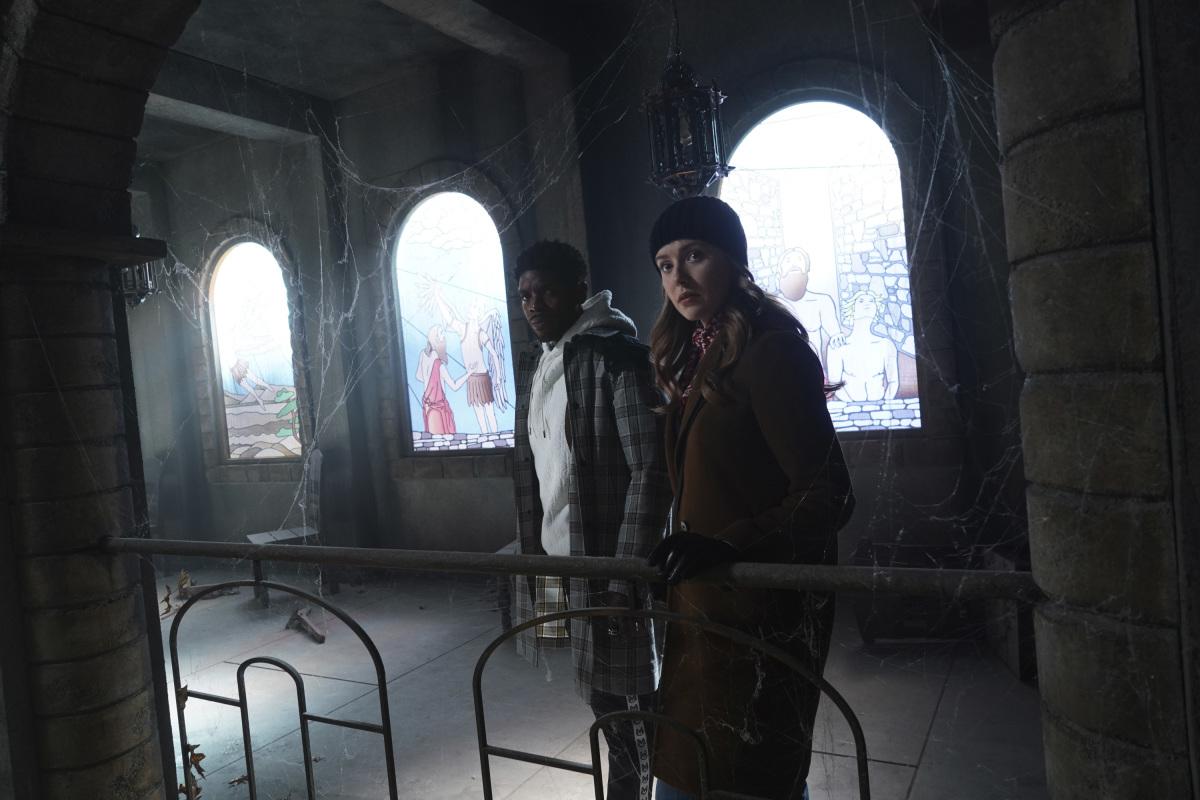 """Нэнси Дрю """"The Celestial Visitor"""" - 15 серия 2 сезона"""