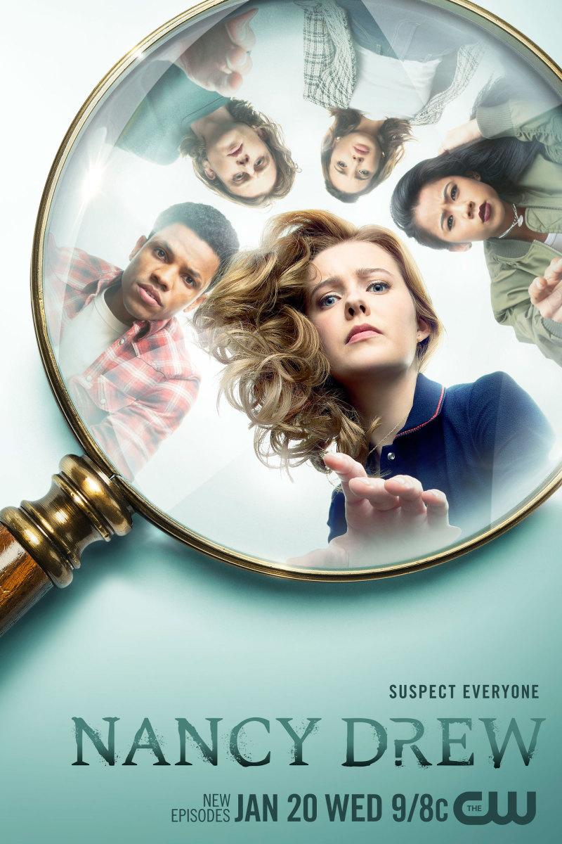 Постер для 2 сезона сериала Нэнси Дрю
