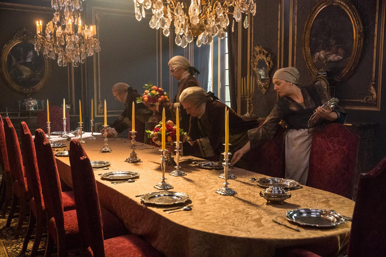 "Чужестранка ""La Dame Blanche"" - 4 серия 2 сезона"