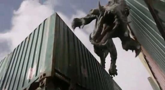 Капросучус во 2 серии 4 сезона Первобытного