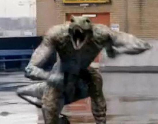 Древесный динозавр в 3 серии 4 сезона Первобытного