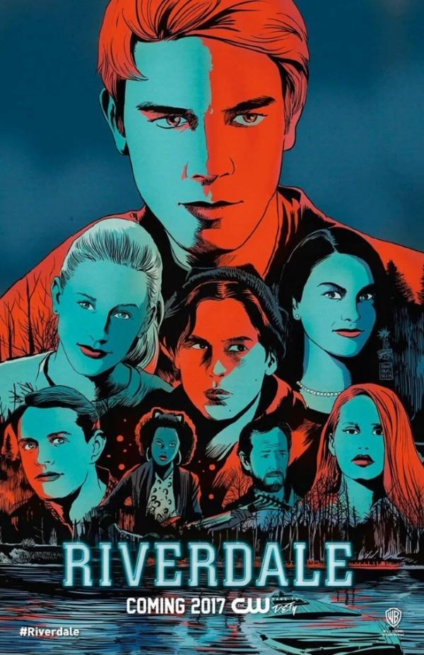 Постер для 1 сезона сериала Ривердейл