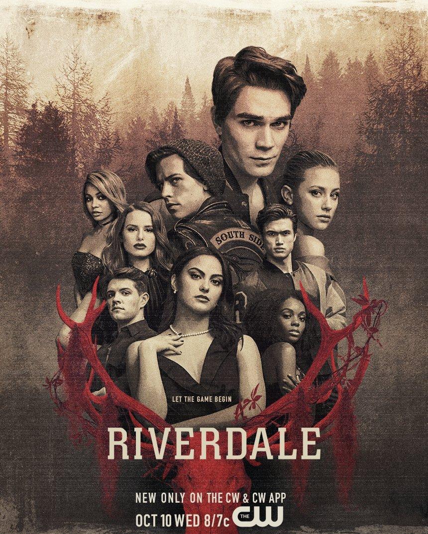 Постер для 3 сезона сериала Ривердейл