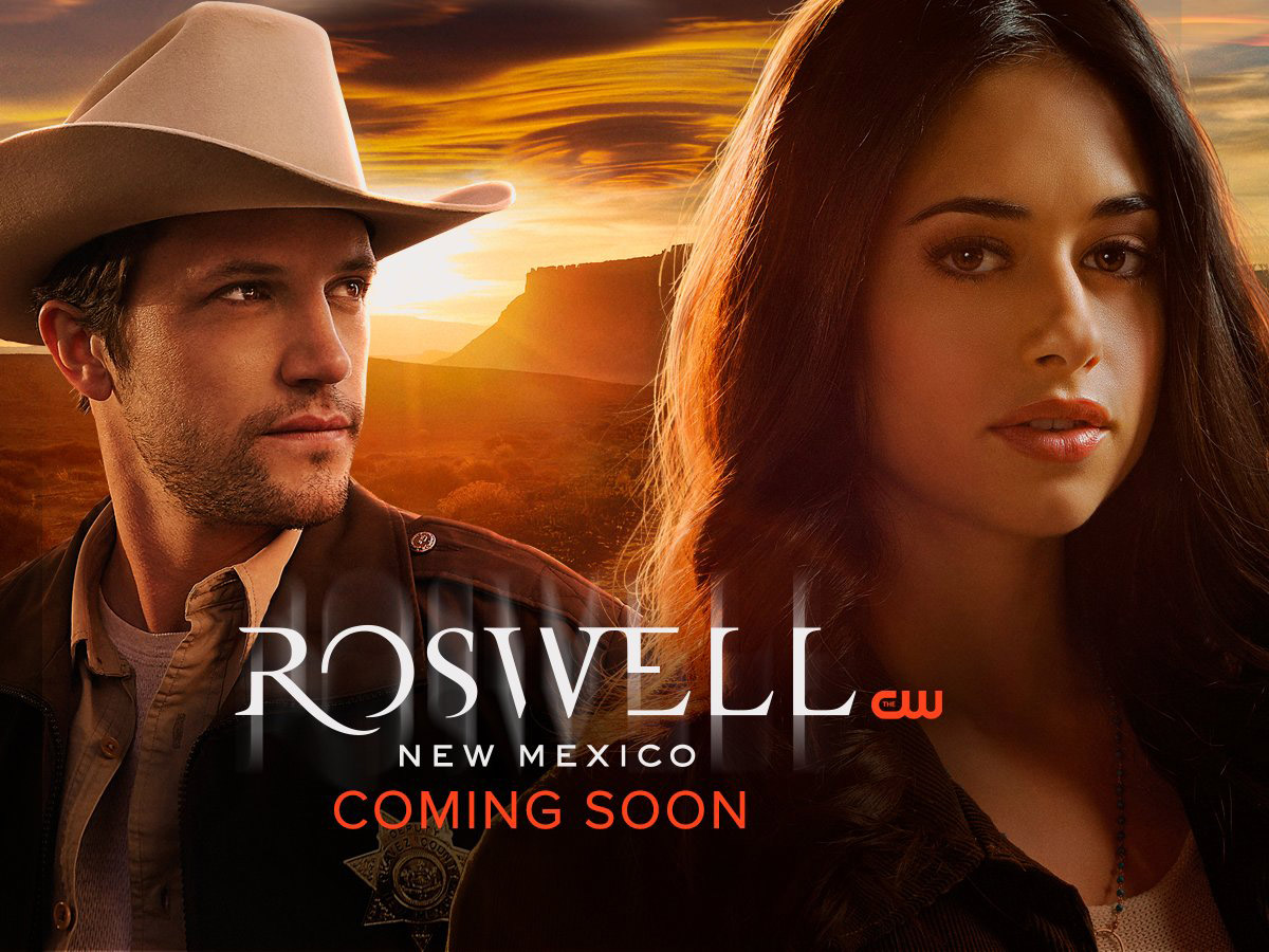Постер для 1 сезона сериала Roswell New Mexico