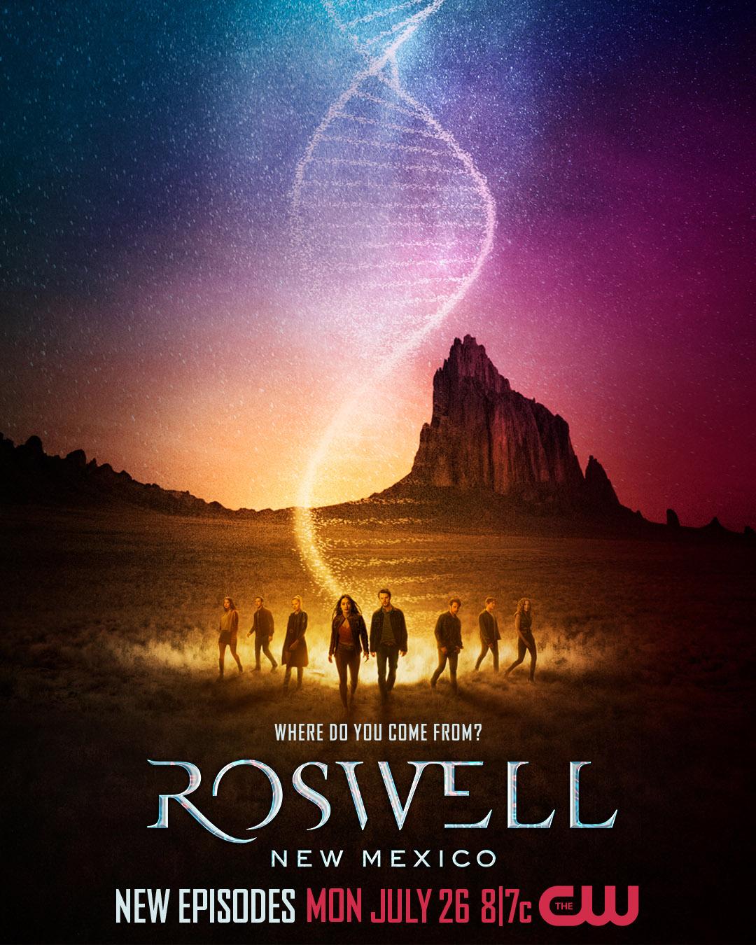 Постер для 3 сезона сериала Розуэлл Нью-Мексико