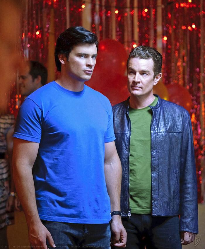 Мозгочей и Кларк в 4 серии 10 сезона Смолвиля