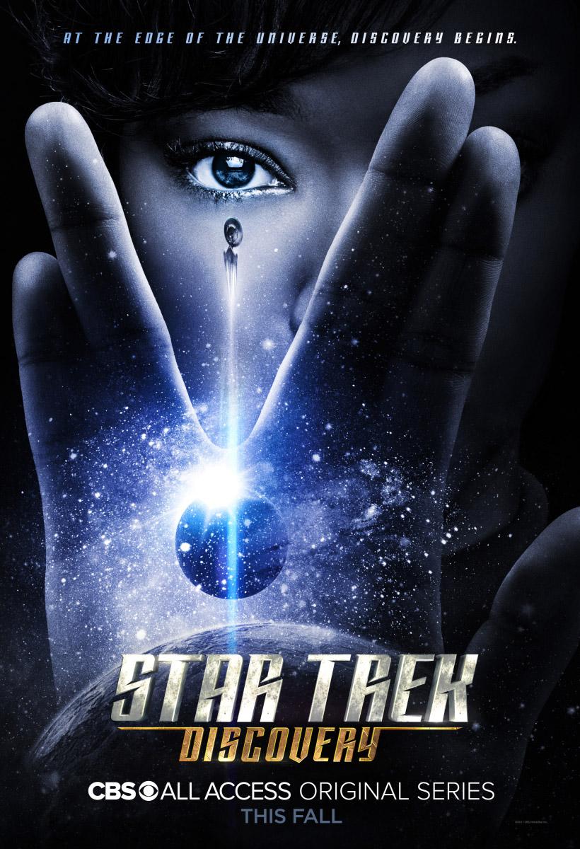 Постер для 1 сезона сериала Звездный Путь: Дискавери