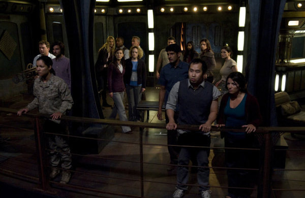 Stargate Universe - эпизод Space