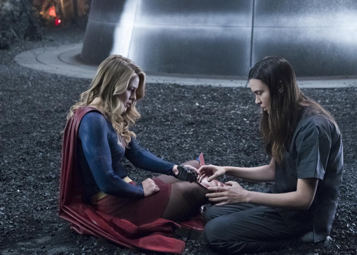 "Супергерл ""Battles Lost and Won"" - 23 серия 3 сезона"