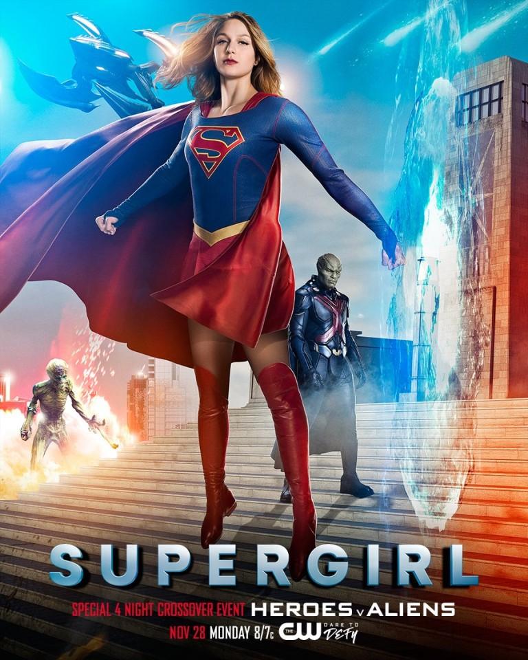 Постер для 2 сезона сериала Супергерл