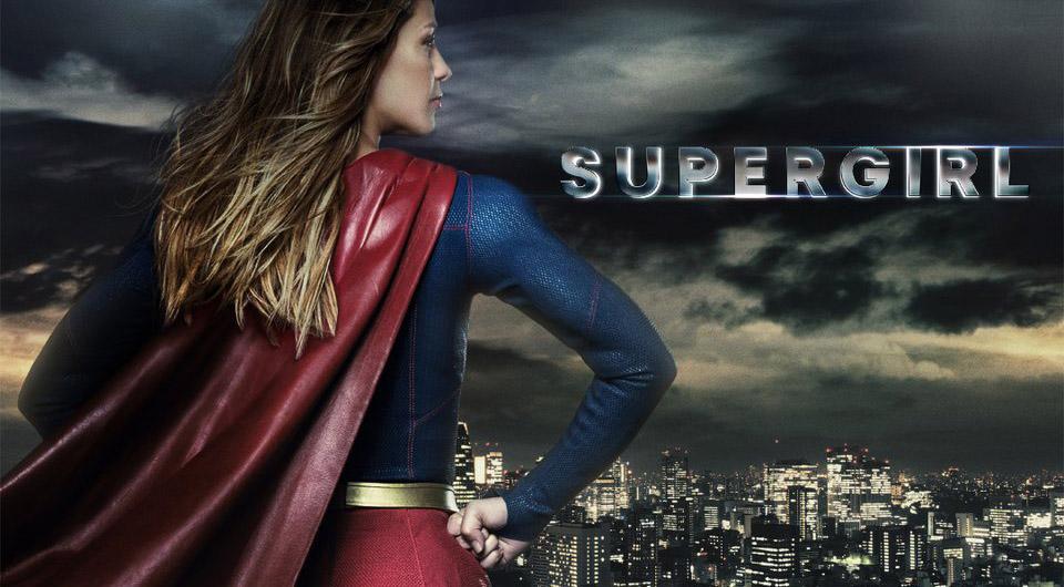 Постер для 5 сезона сериала Супергерл