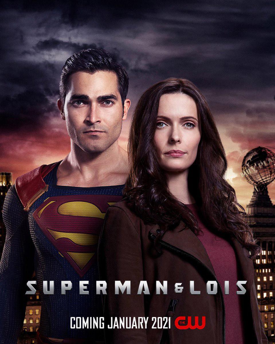 Постер для 1 сезона сериала Superman & Lois