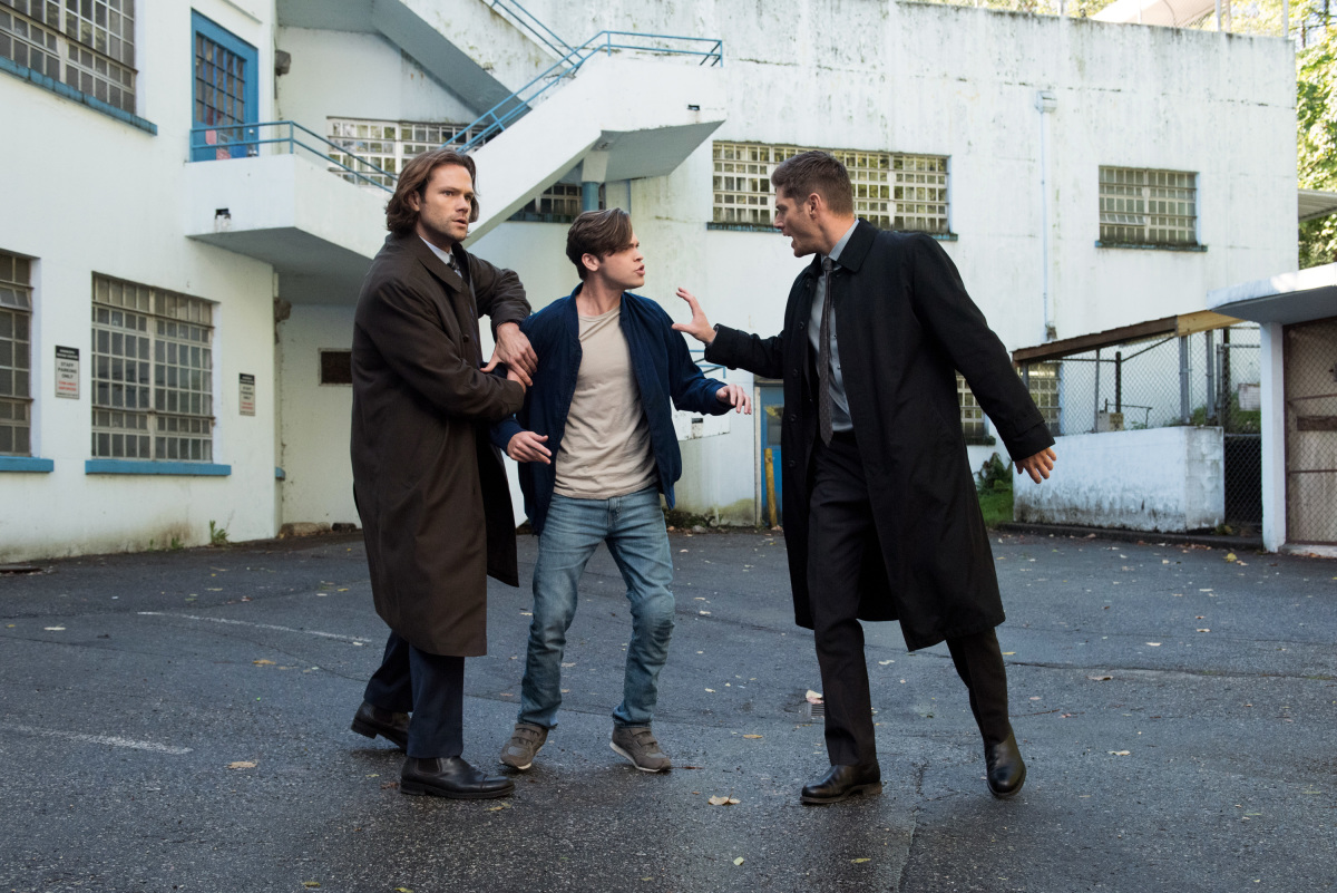 """Сверхъестественное """"The Bad Place"""" - 9 серия 13 сезона"""