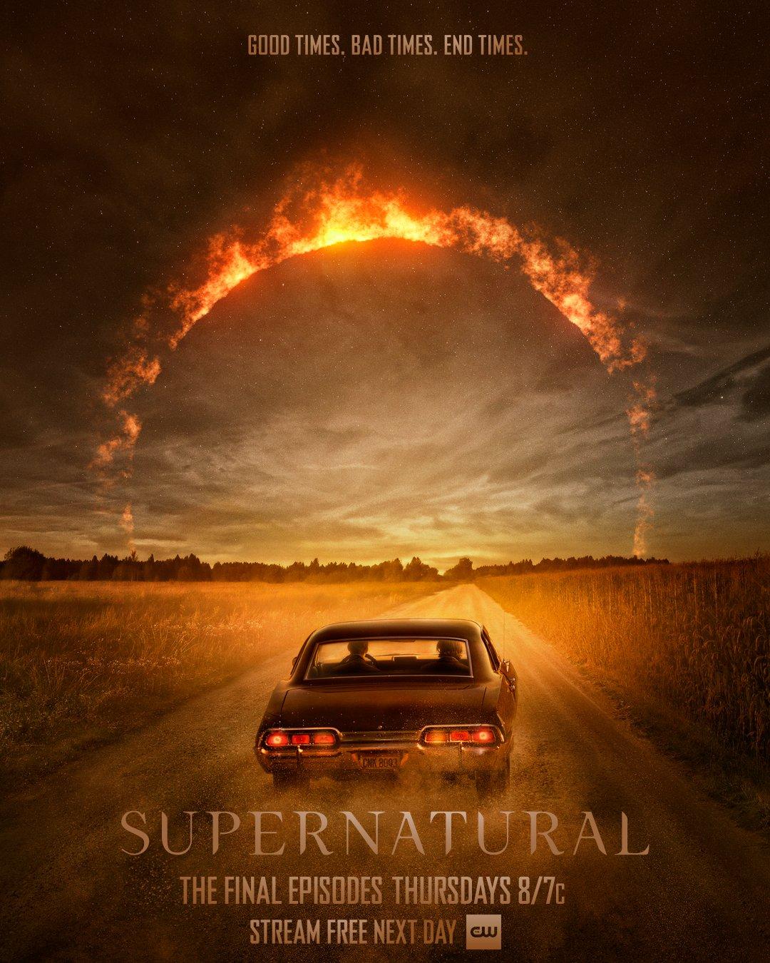 Постер для 15 сезона сериала Сверхъестественное
