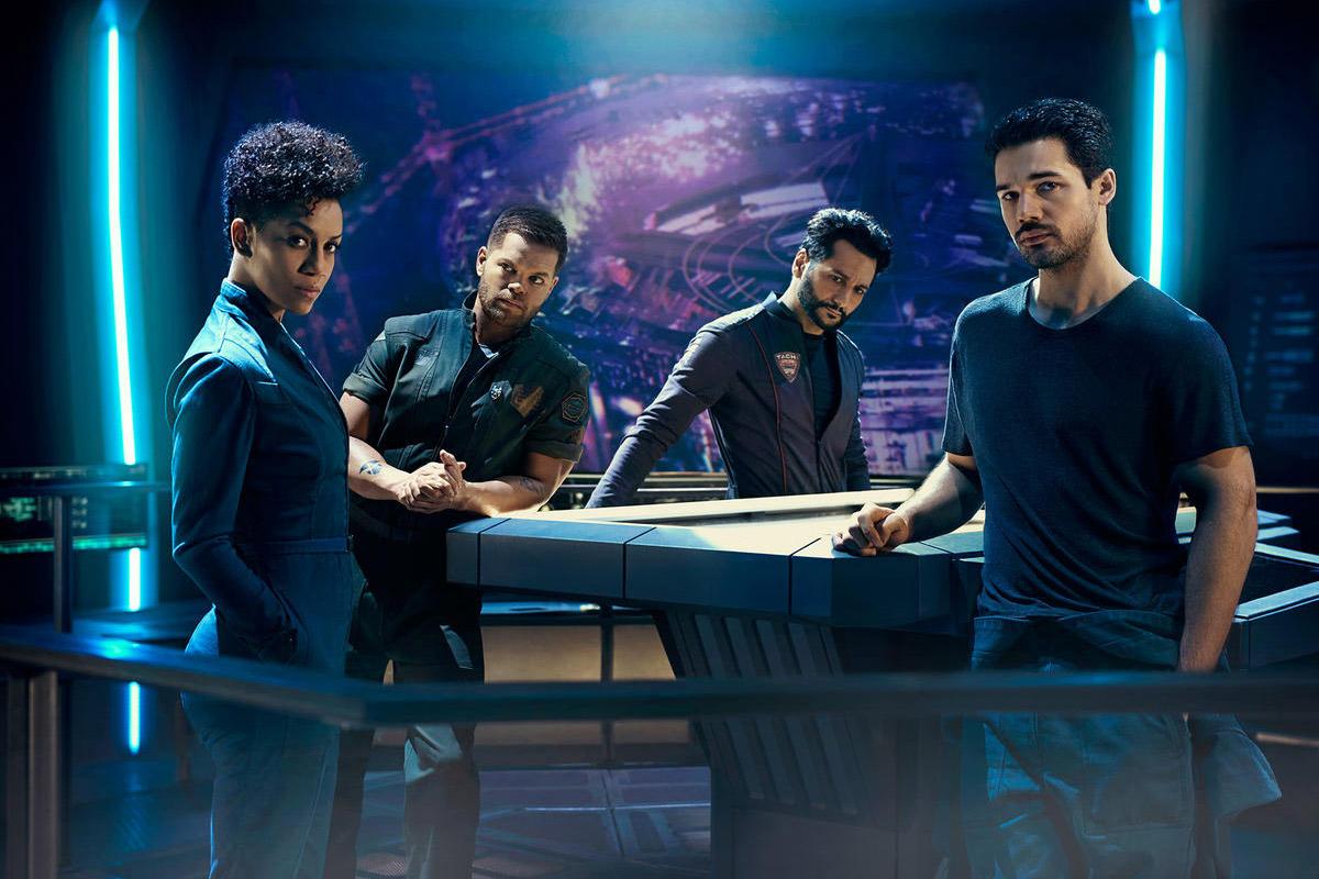 Постер для 2 сезона сериала Пространство