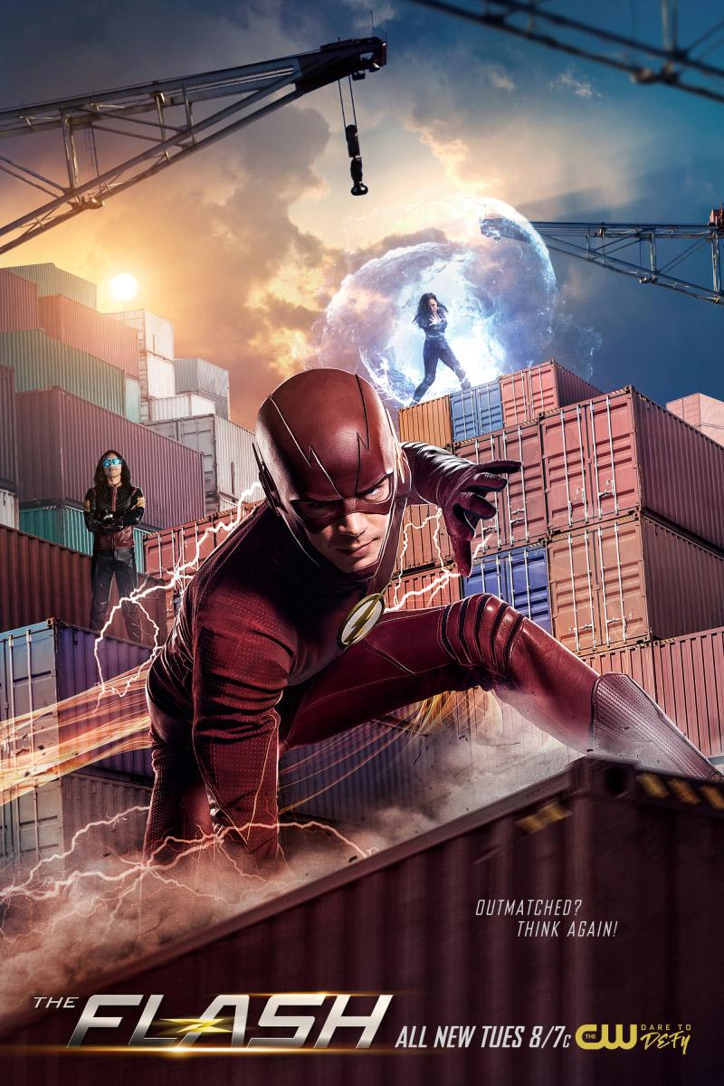 Постер для 4 сезона сериала Флэш