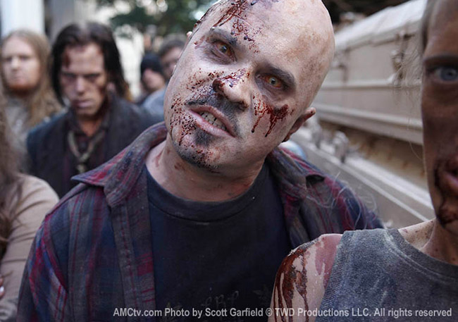 The Walking Dead - зомби