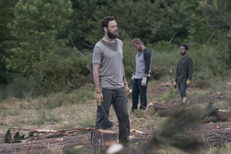 """Ходячие Мертвецы """"The Bridge"""" - 2 серия 9 сезона"""