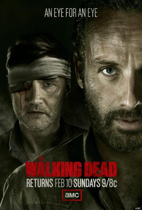 Постер для 3 сезона сериала Ходячие Мертвецы