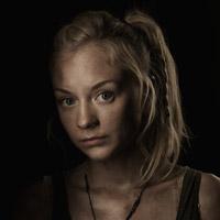 Эмили Кинни в сериале Ходячие Мертвецы - официальное фото