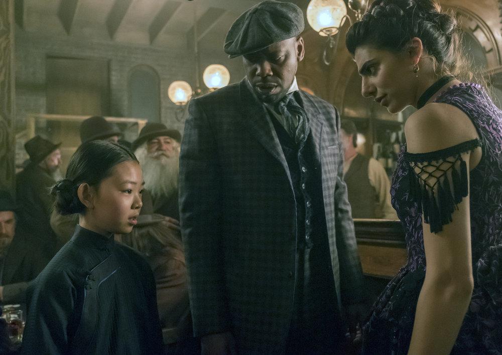 """Вне Времени """"Chinatown"""" - 10 серия 2 сезона"""