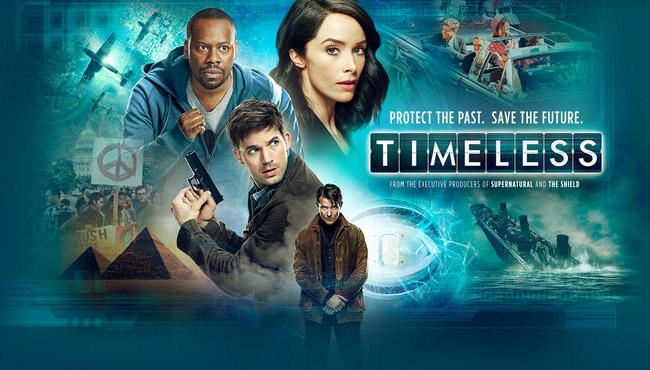 Постер для 1 сезона сериала Вне Времени