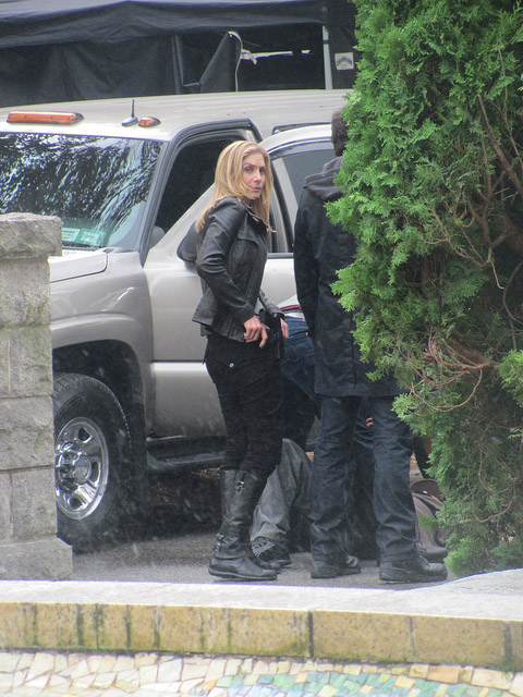 Боевая сцена на съемках второго сезона V