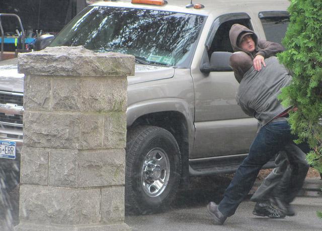 Боевая сцена на съемках второго сезона Визитеров