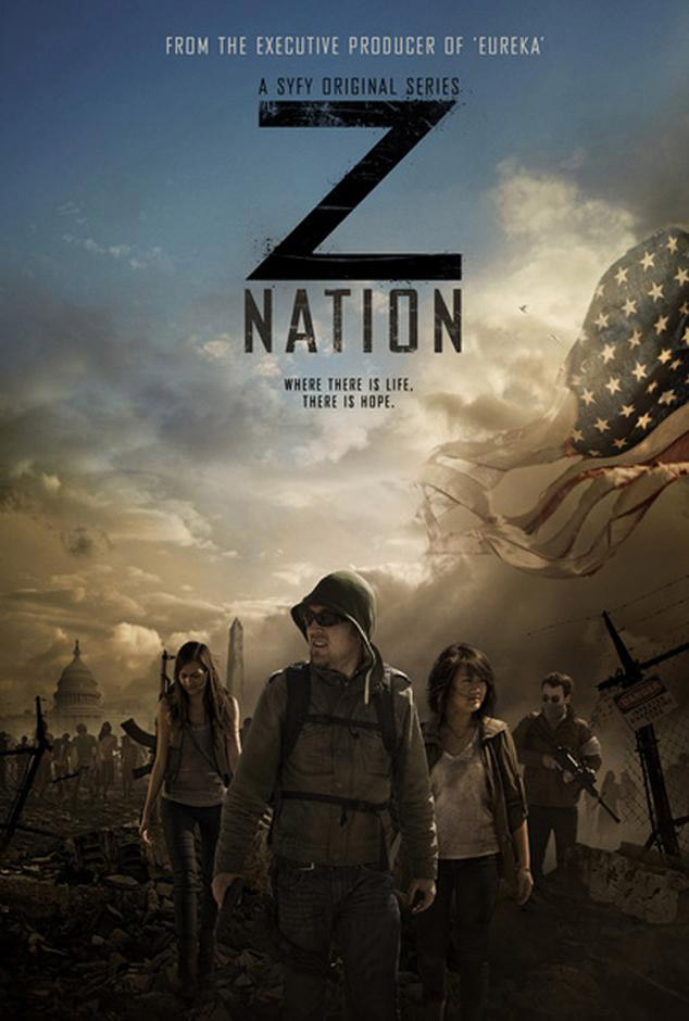Постер для 1 сезона сериала Нация Z