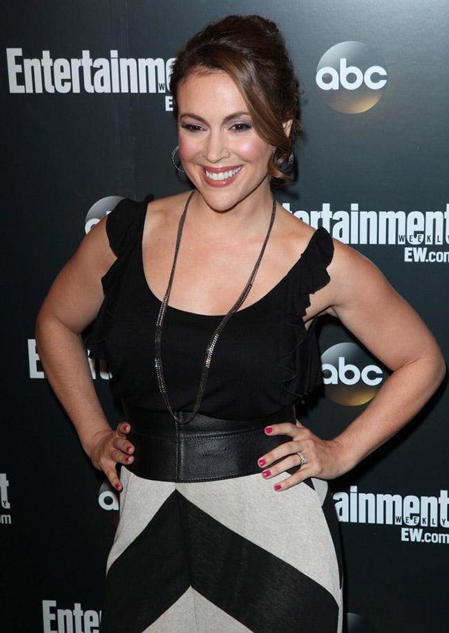 ABC Upfront 2012: Алисса Милано