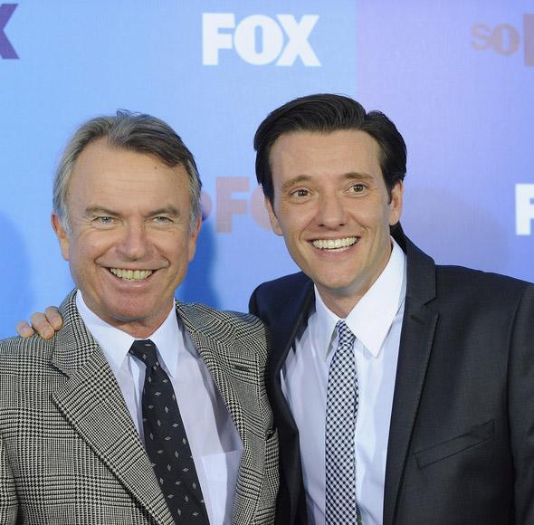 Fox Upfront 2011: Сэм Нилл, Джейсон Батлер Харнер